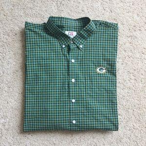 Cutter & Buck Long-Sleeve Plaid Collar Packers